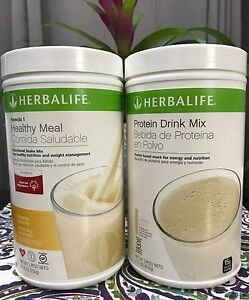 NEW-Herbalife-Formula-1-Healthy-Meal-shake-and-Protein-Drink-Mix-all-flavors