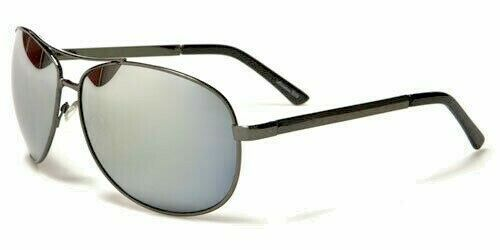 NEW Air Force Pilot Designer Mirrored Mens Womens Metal Sunglasses 100/%UV400 33