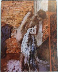 Apres-Le-Bain-After-The-Bath-Edgar-Degas-Art-Print-On-Board-FoundArtShop-com