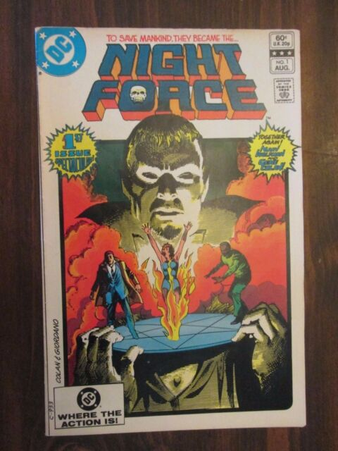 The Night Force #1 (Aug 1982, DC)