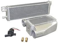 Aluminum Heat Exchanger Liquid Water To Air Intercooler And Water Pump He001