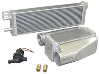 Aluminum Heat Exchanger Liquid Water To Air Intercooler And Water Pump He001