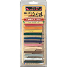 General S Multi Pastel Compressed Chalk Sticks 12 Pkg Assorted Colors 40140 Bp For Sale Online Ebay