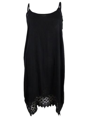 Raviya Women/'s Crochet-Trim Dress Swim Cover-Up