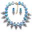 Women-Fashion-Bib-Choker-Chunk-Crystal-Statement-Necklace-Wedding-Jewelry-Set thumbnail 65