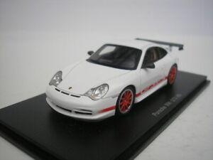 Porsche 911 996 Gt3 Rs 2003 White Red 1 43 Spark S4473 New 9580006944733 Ebay