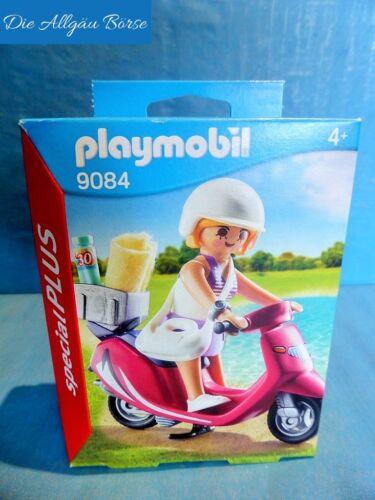 Playmobil 9084 Strandgirl m. Roller Special Plus Summer Fun Vespa Strand Meer