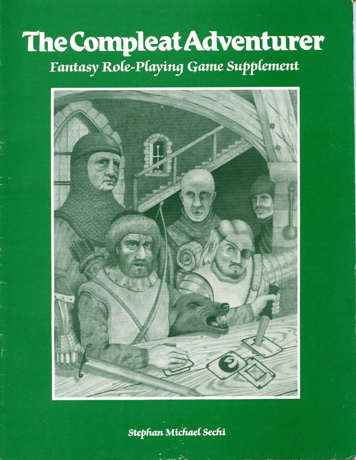 THE COMPLEAT ADVENTURE BARD GAMES VGC  TSR AD&D D&D