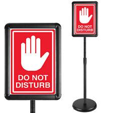 Heavy Duty Pedestal Poster Sign Holder Floor Standing Outdoor And Indoor