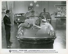 BRITT EKLAND THE BOBO 1967 VINTAGE PHOTO ORIGINAL #7 MASERATI MISTRAL SPIDER