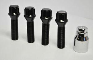set de 50 mm étendu Filetage CONIQUE SIÈGE Roue Alliage Verrouillage Boulons M12 X 1.25