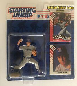 1993 Nolan Ryan Starting Lineup Texas Rangers Figure + Special Card Series Kenne