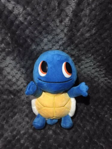 New JAPAN POKEMON CENTER Limited SQUIRTLE w// Magnetic Hands Plush