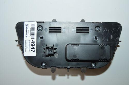 2013-2016 Buick Verano A//C Heater climate control button panel face 22944947