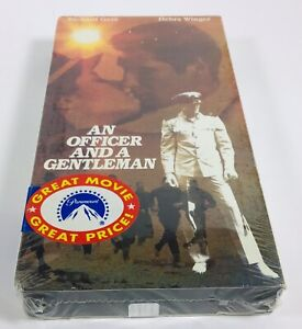 An-Officer-And-A-Gentleman-VHS-1982-Classic-Movie-BRAND-NEW-SEALED-Tape