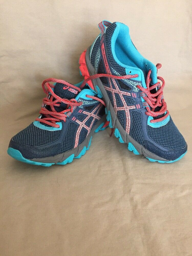New ASICS GEL-Sonoma™ 2 Women's Running Shoes Size 6.5 (M) T684N Blue/pink