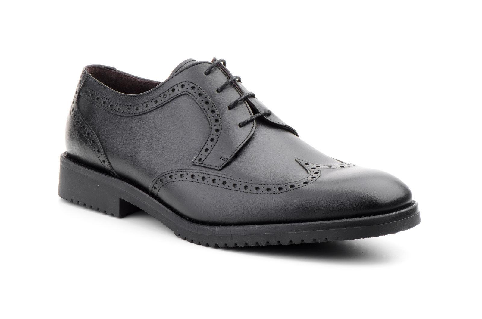 Herren Business Schuhe Budapester Leder CARLO GARELLI Gr 39 40 45 41 42 43 44 45 40 46 443ab4