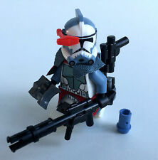 "LEGO Star Wars Custom ARC Trooper Commander ""Colt"" + Custom Helmet & Equipment"