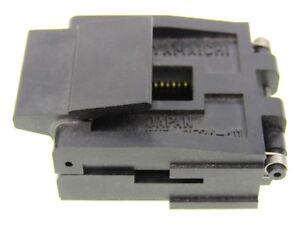 Yamaichi-IC51-0524-411-PLCC-Fassung-Polzahl-52-Test-amp-Burn-in-Socket-for-PLCC52