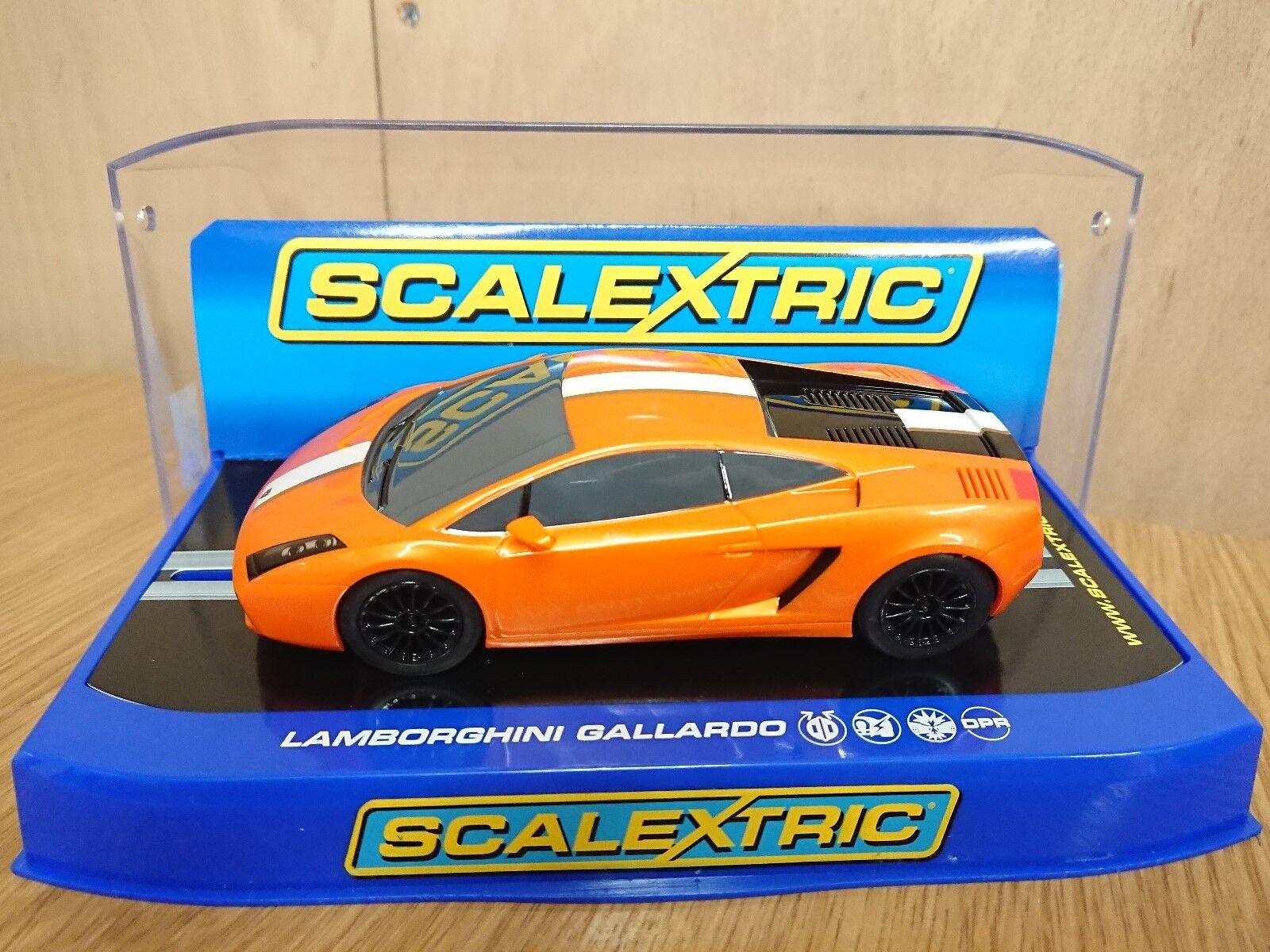 SCALEXTRIC C3178 Lamborghini Gallardo LP 550-2 Valentino Balboni New
