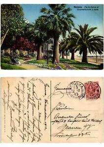 Cpa Genova Fra Le Palme Di Circonvallazione A Mare. Italy (532131) 0sof3ck9-07224551-186125716