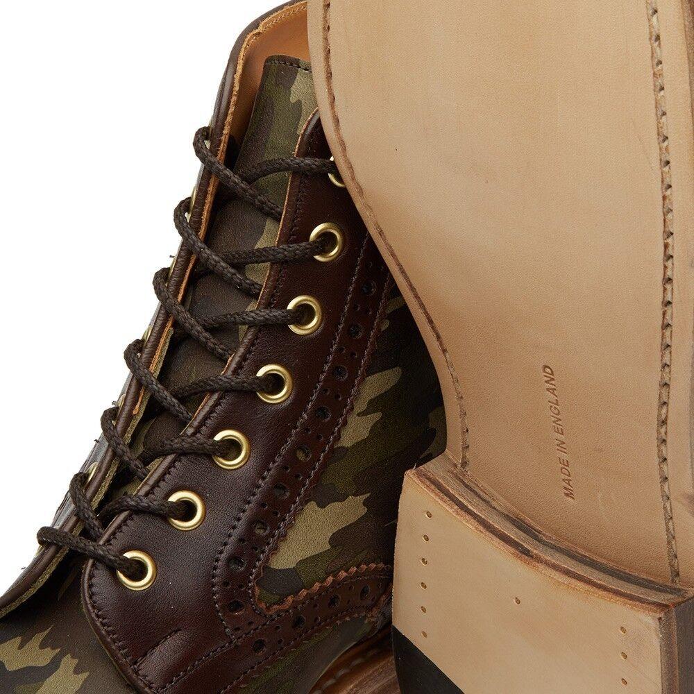 NIB Tricker's Camo Insert Kelmscott Brogue Stiefel (Made (Made (Made in England)  695 e6af2f