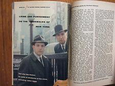 1961 TV Guide (PAUL BURKE/HORACE McMAHON/SHARON HUGUENY/LISABETH HUSH/NAKED CITY