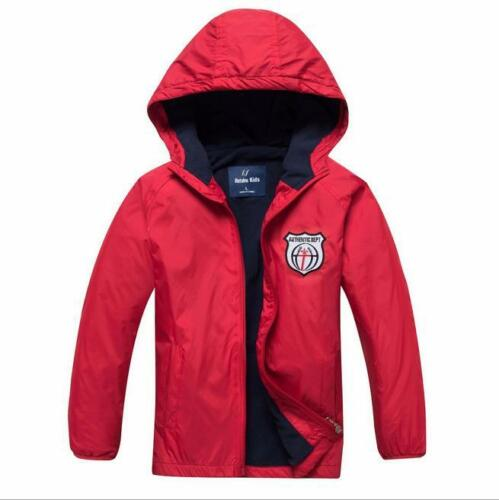Boys Polar Fleece Ski Snow Winter Jacket Kids Coats Children Wind//Waterproof