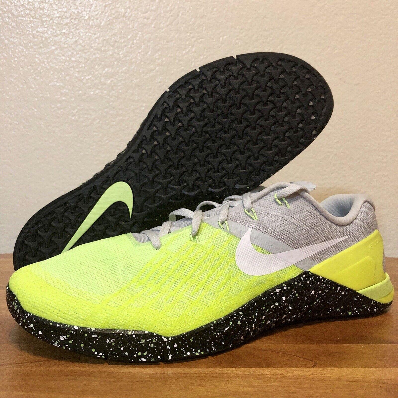 Mew Nike Metcon 3 Volt Training Crossfit shoes Men's Size 14