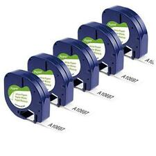 Compatible Label Tape Replacement For Dymo Letratag Refills 91330 10697 Self 5