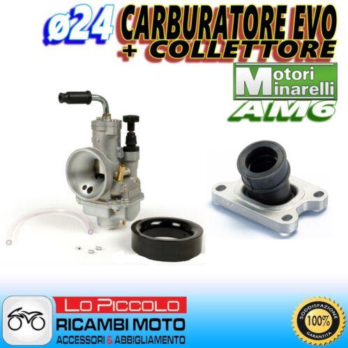 COLLETTORE FANTIC MOTOR CABALLERO 05 AM6 CARBURATORE POLINI EVOLUTION CP ø24