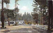 MONTEREY CA 1907-14 Forest Lodge on 17 Mile Drive VINTAGE CALIFORNIA COAST GEM++