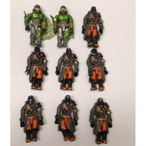 Mega Bloks Construx Destiny Hunter 2 green huner /& 7 black hunter  action figure