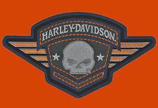 HARLEY DAVIDSON Willie G Skull Badge 6.25 INCH HARLEY PATCH