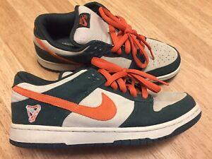 brand new 7c5c4 b6ca2 2006 Nike Dunk Low Pro SB Eire Net Green Deep Orange Size ...