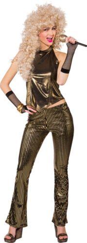 Orl Damen Kostüm 80er Jahre Disco Outfit Karneval Fasching