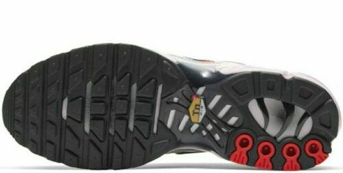 Original Nike Air Max Plus publicaremos 1 Plata Metálica Negro Tn entrenadores CT2545 001