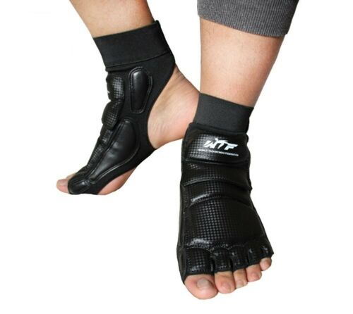 Mcolics Taekwondo Foot Protector Gear Training Boxing WTF Fighting Feet Guard