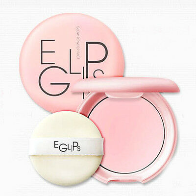 NO SEBUM POWDER EGLIPS Series Glow Pink Powder Pact 8g (No Sebum) Korean Makeup