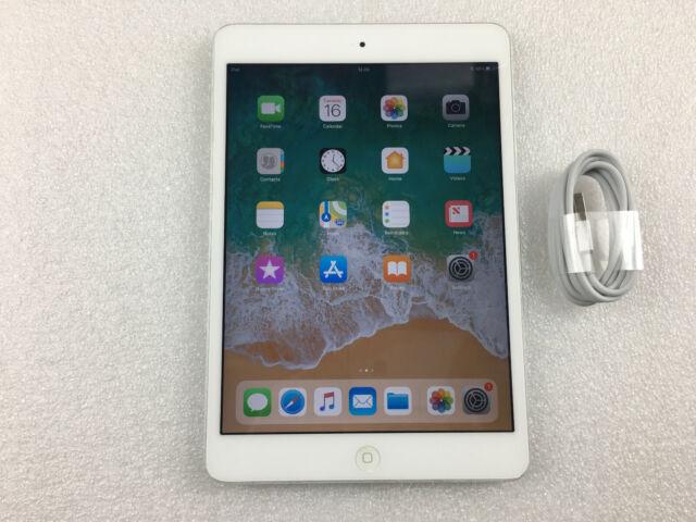 Apple iPad mini 2 16GB, Wi-Fi 7.9in Silver iOS 12 (READ MAIN) Ref B946