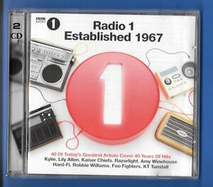 VARIOUS-ARTISTS-RADIO-1-ESTABLISHED-1967-2xCD-ALBUM-2007-5302508-Universal-UK