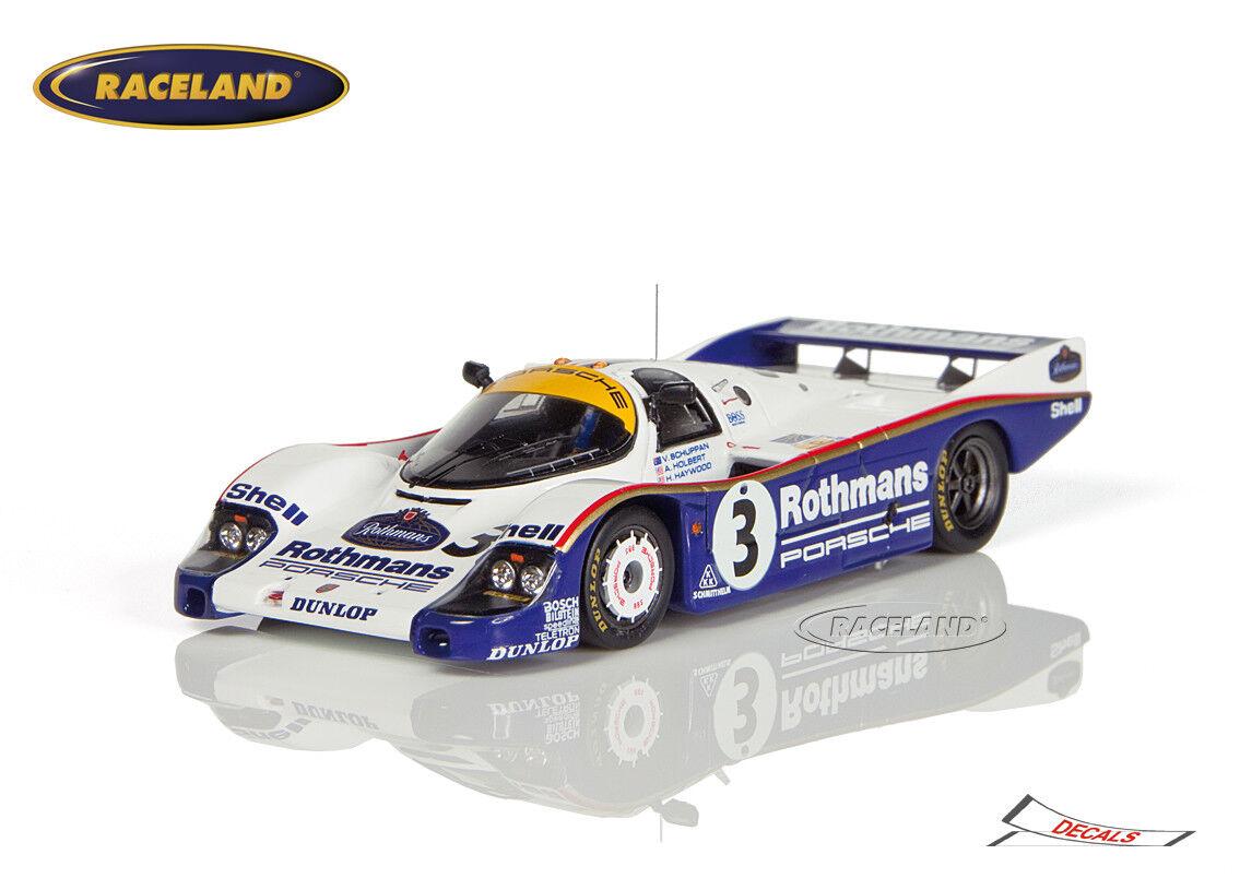 Porsche 956 RothFemmes vainqueur 24 H LE MANS 1983 Holbert/Haywood/Schuppan Spark 1:43 | Expédition Rapide