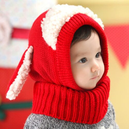 Set Beanie Hat Scarf Set Hooded Hat Cap Scarf Cloak Set Kids Boys Girls Hat
