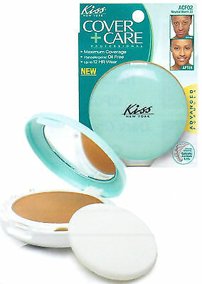 KISS OIL-FREE ACNE COVER CREAM FOUNDATION MAKEUP (7 SHADES)