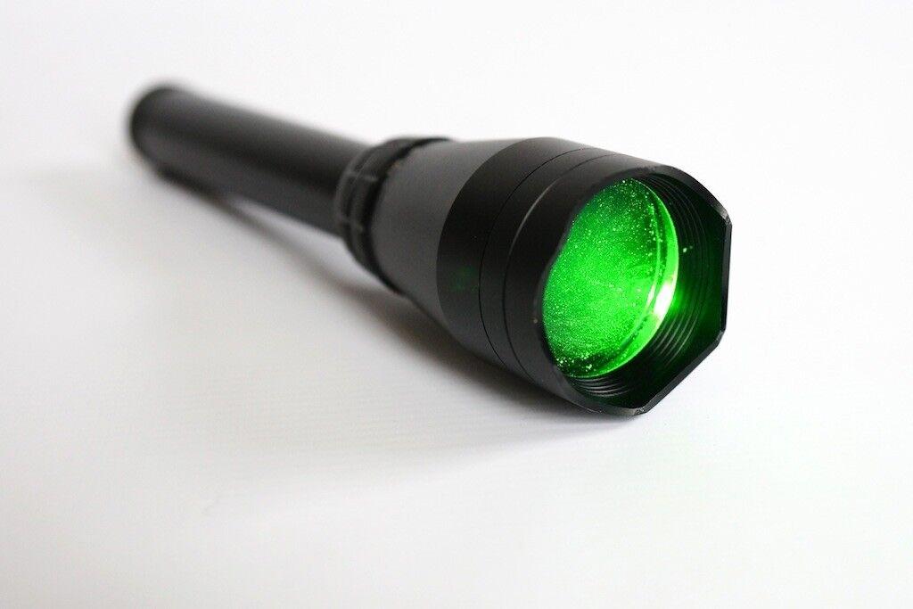 Designador láser verde Linterna LGS5 versión frío funciona a punto de congelación