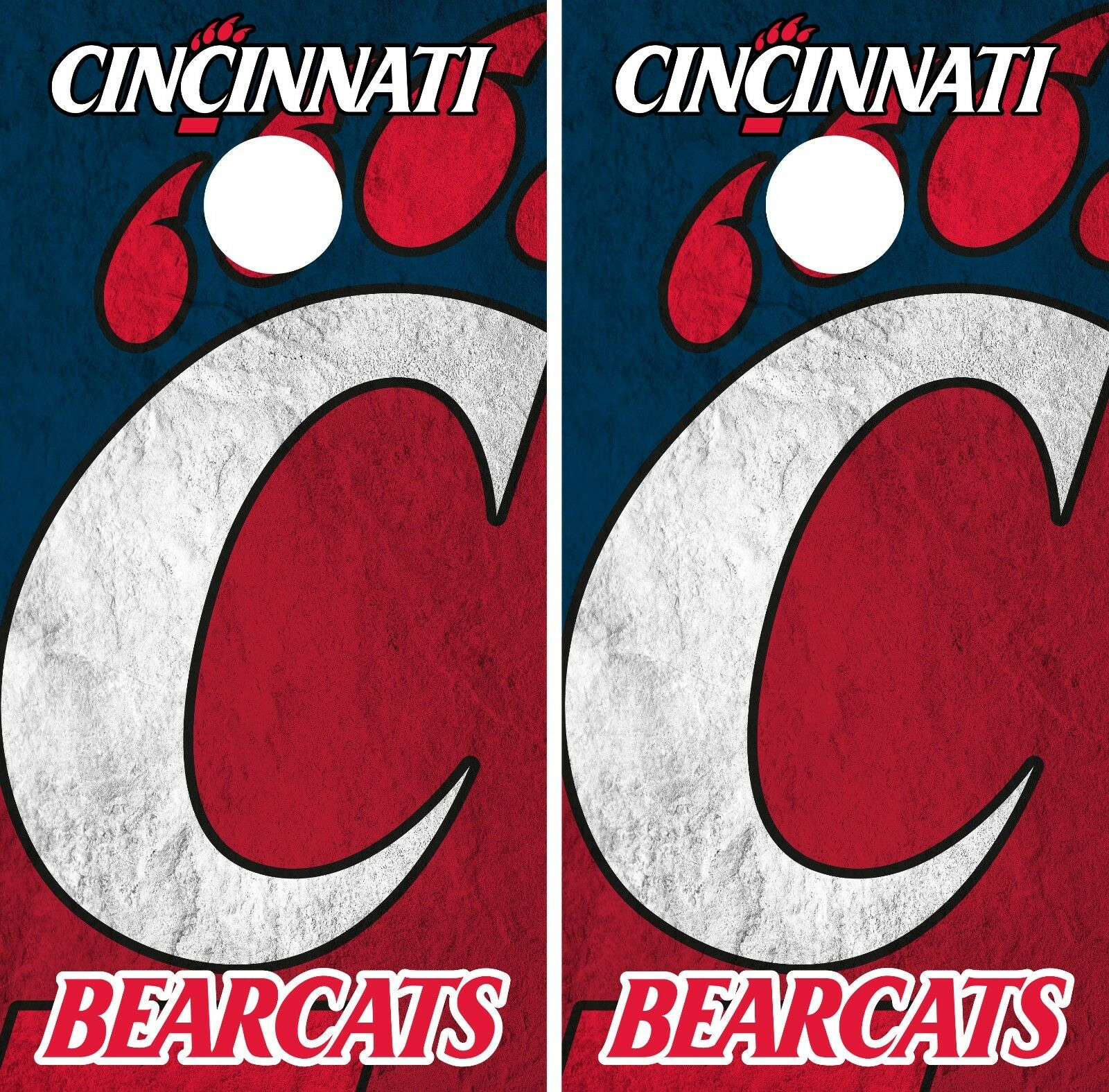 Cincinnati Bearcats Cornhole Wrap NCAA  Board Skin Vinyl Decal Art Set CO763  cheap and top quality
