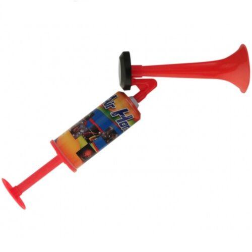 3x Signalhorn Druckluftfanfare gasfrei 44 cm Fanfare Fan-Tröte Fantröte Fanhorn