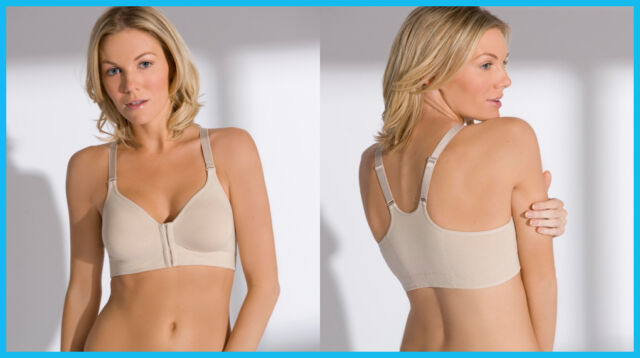 4f20f45dfb1d03 Post Surgical Front Fastening Soft Cup Breast Surgery Bra - VARIOUS CUPS  SIZES