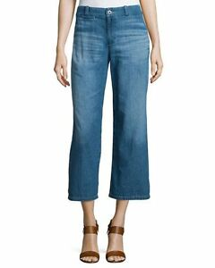 Pantacourt Bobbie Nwt Anthropologie haute taille Jeans Taille 27 Ag wvtUtq7F