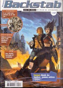 Magazine Backstab N°47 Mars 2003 Sous Emballage Dessins Attrayants;